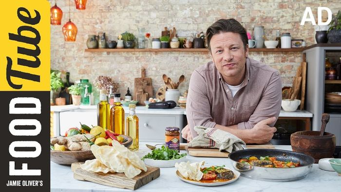 Aubergine Rogan Josh: Jamie Oliver