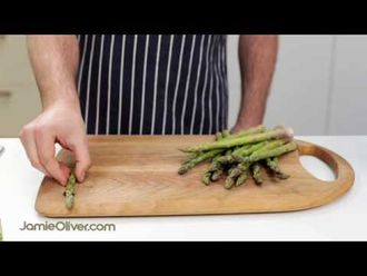 How to prepare asparagus: Pete Begg