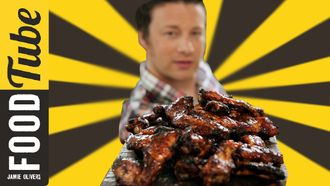 Piri piri chicken wings video: DJ BBQ