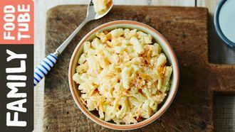 Carrot & ricotta pasta for babies & kids: Michela Chiappa