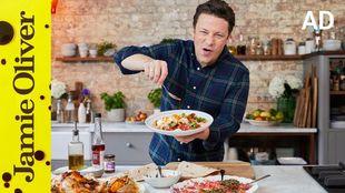 Easy harissa roast chicken fajitas: Jamie Oliver