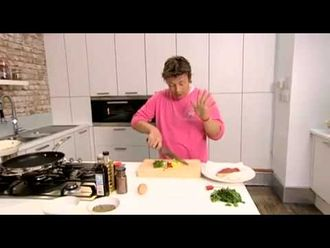 Sizzling beef with spring onions and black bean sauce: Jamie Oliver