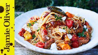 Summer sausage pasta