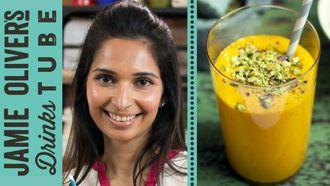 Mango & saffron lassi recipe: Maunika Gowardhan