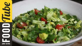 Tasty side salad: Kerryann Dunlop