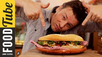 The ultimate turkey sandwich: Jamie Oliver