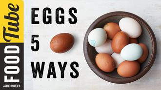5 things to do with eggs: Jamie Oliver's Food Team