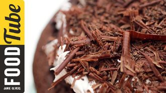 How to make chocolate shavings: Kerryann Dunlop