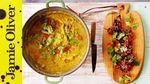 Jamie's quick chicken laksa: Jamie Oliver