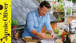 Prawn Toast Toastie: Jamie Oliver