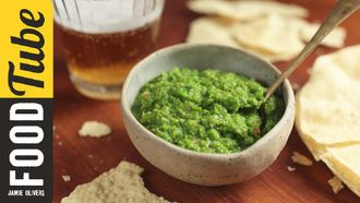 Indian pea chutney: Maunika Gowardhan