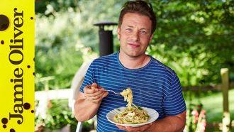 Crab linguine: Jamie Oliver