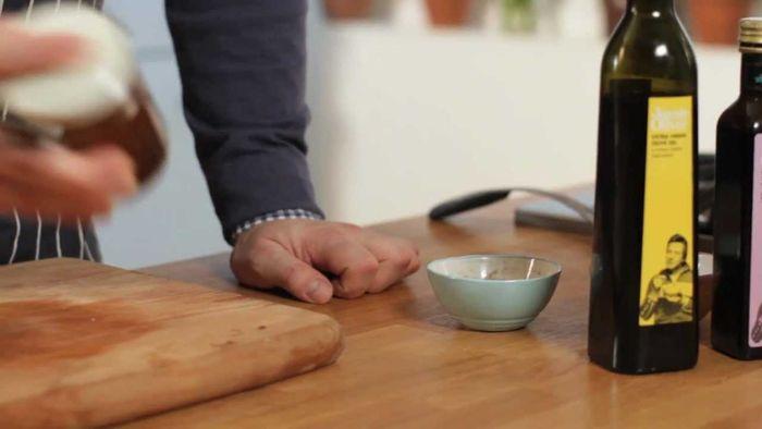 Jamie Oliver's extra virgin olive oil and balsamic vinegar: Jamie's Food Team