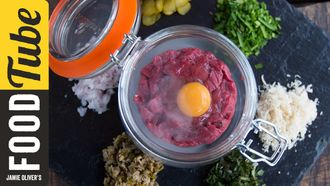 Wild venison tartare: Hunter Gather Cook