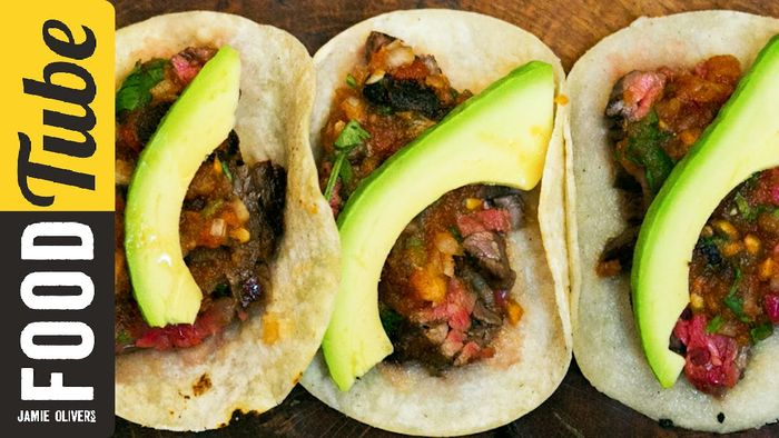 Mexican steak tacos: Tommi Miers
