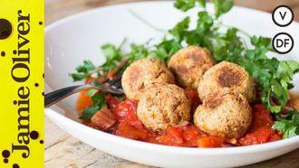 Vegetarian meatballs: Happy Pear & Tim Shieff