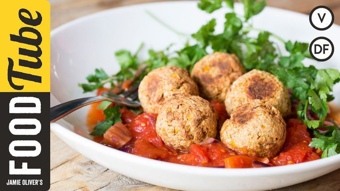 Vegetarian meatballs: Happy Pear Boys & Tim Shieff