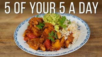 Sweet potato & white bean chilli: Jamie Oliver's food team