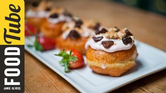 Strawberry doughnuts: Sortedfood