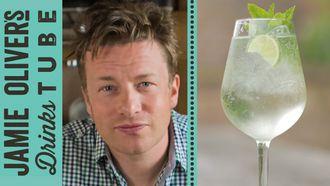 Martini Royale cocktail: Jamie Oliver