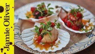 Pan fried scallops: Natalie Coleman