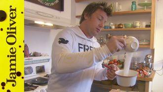 Chocolate tart in America: Jamie Oliver