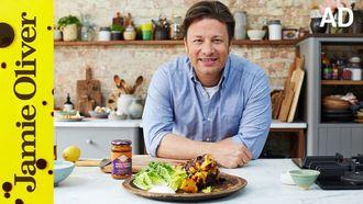 Chicken tikka skewers: Jamie Oliver