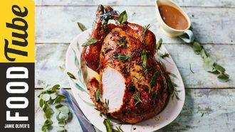 How to carve a turkey 2 ways: Jamie Oliver