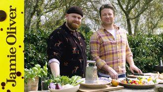 Spicy chicken wings: Jamie Oliver & Tom Walker