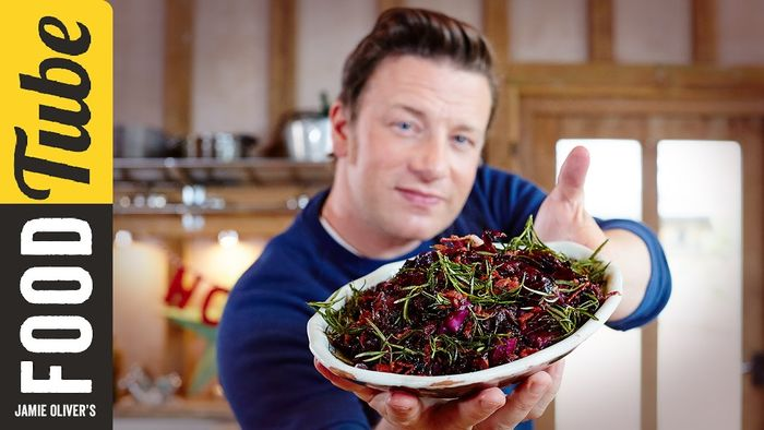 Christmas red cabbage: Jamie Oliver