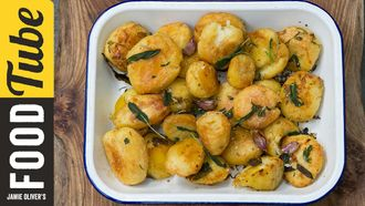 Christmas roasties 3 ways: Jamie Oliver