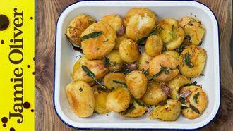 Christmas roasties 3 ways: Jamie Oliver