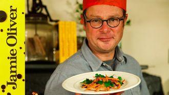 Leftover turkey satay: Hugh Fearnley-Whittingstall