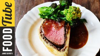 Beautiful beef wellington: Jamie Oliver