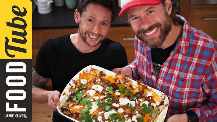 Super Bowl Sunday killer nachos: DJ BBQ & Haste's Kitchen