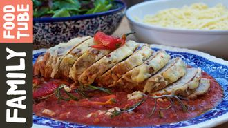 Easy meatloaf in tomato sauce: Kitchen Daddy