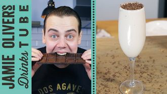 Chocolate & vodka cocktail: Simone Caporale