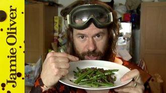 Woodstock Dan's green beans: DJ BBQ