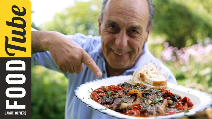 Sirloin steak in tomato sauce: Gennaro Contaldo