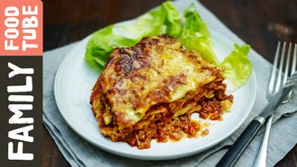Easy family lasagne: Jamie Oliver