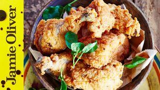 Ultimate fried chicken: Jamie Oliver