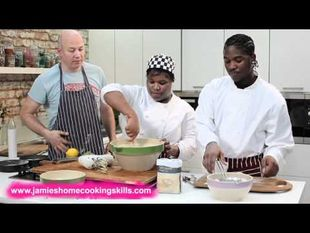 Victoria sponge part 1 u2013 Jamie Oliveru2019s Home Cooking Skills