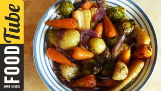 Roast vegetables & British bubble and squeak: My Virgin Kitchen