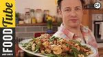 Healthy pan cooked prawns: Jamie Oliver
