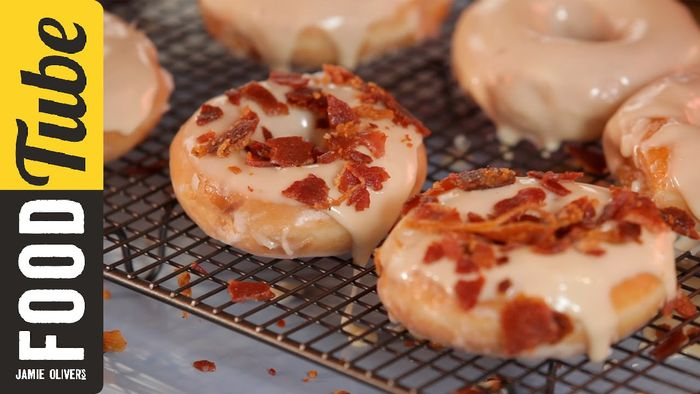 How to make American bacon doughnuts: DJ BBQ