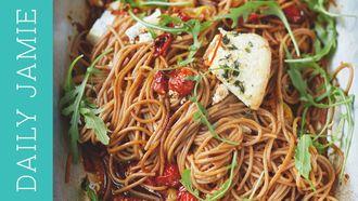 Spelt spaghetti recipe: Jamie Oliver