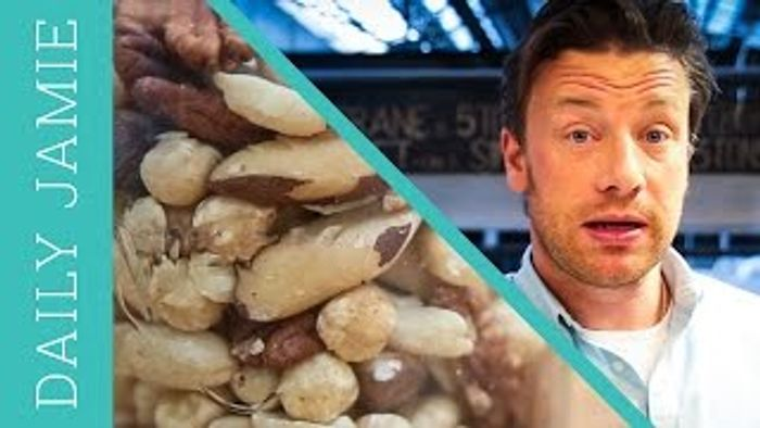 Let's talk about nuts: Jamie Oliver