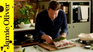 New Year's roast pork: Jamie Oliver