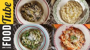 Perfect risotto four ways