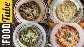 Perfect risotto four ways: Gennaro Contaldo